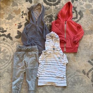 Other - Lot of 3 Boys Hooded Shirts and Sweatshirts